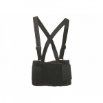 "Back Support, Washable Polyester, Black, 28"" x 32"""