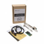 1-Port M.2, B and M Key, PCIe GbE Module