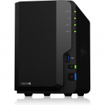2 Bay NAS DiskStation, 2GB DDR4, Quad-Core 1.4Ghz