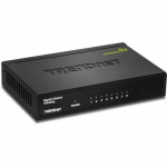 8-Port Gigabit GREENnet Switch with Metal Case