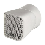 Full-Range Compact Surface-Mount Speaker, White